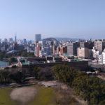 Dobbyドローン空撮カメラ写真#4 福岡大濠公園