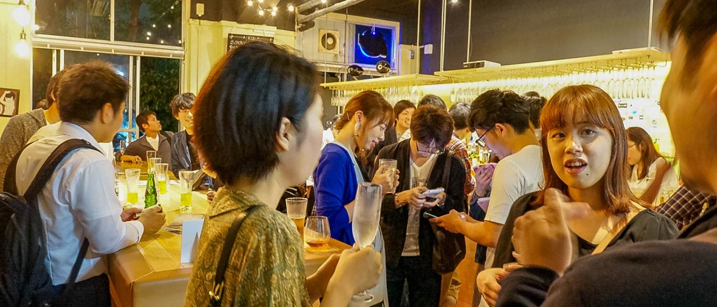 福岡のフリーランスを60人以上を集めたスタンディングパーティーを開催してみた!